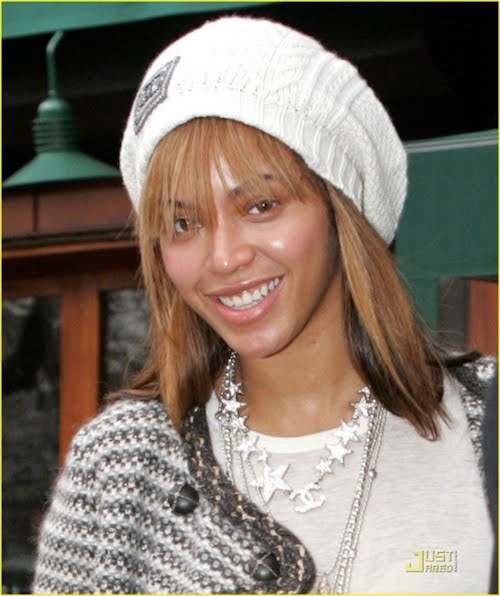 pictures of beyonce without makeup. Stars without make-up
