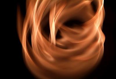 llama fuego vela