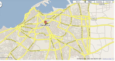 How is Libya Doing Tripoli City Map