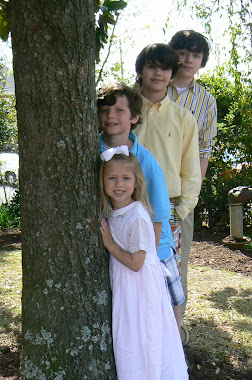 4littlepilgrims on Easter Sunday 2010