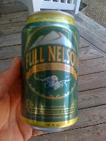 Full Nelson, in cans from Blue Mountain Brewery of Virginia
