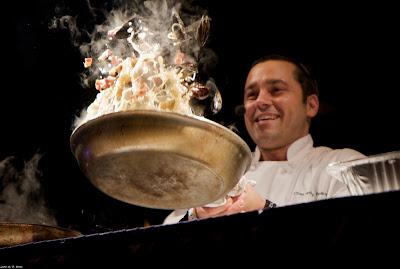 Chef Folkman's Drunken Mussels