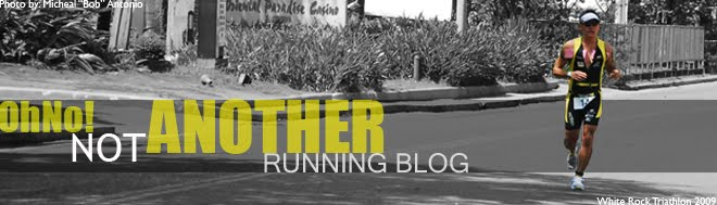 Oh No! Not Another Running Blog