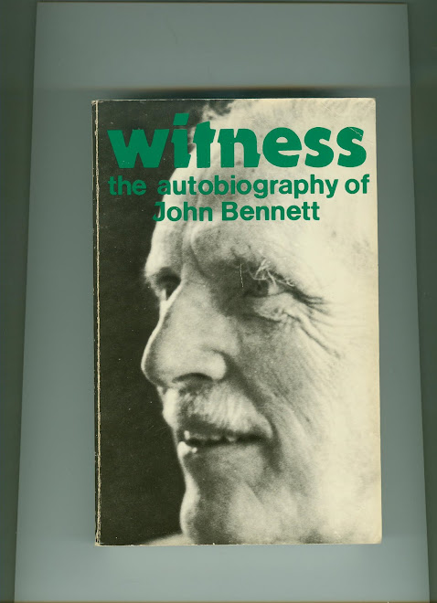 WITNESS THE AUTOBIOGRAPHY OF JOHN BENNETT