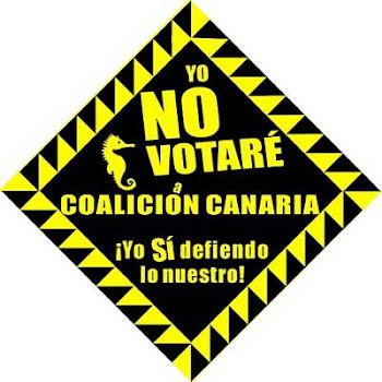 Yo NO VOTARÉ a Coalición Canaria