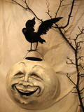 Moonlight Moon with Crow