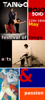 Performance/seminars in Tango rojo, London