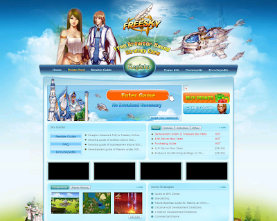 Freesky website screenshot