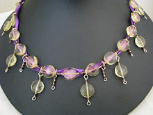 Citrine Quartz in purple