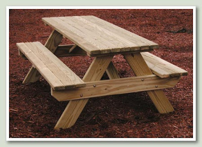 ... Picnic Table Plans - Do Your Kids Want Their Very Own Picnic Table