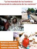 HM EXPRESA PESAR POR TRAGEDIA EN HAITI LLAMA A LA SOLIDARIDAD