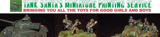 Tank_Santa's Wargame Miniature Painting Service