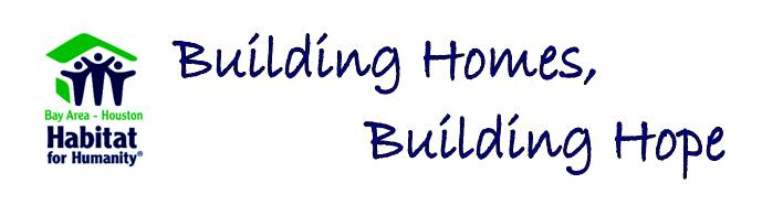 Building Homes, Building Hope