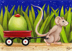 """Special Delivery"" ACEO - SOLD"