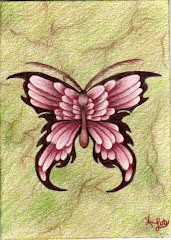 """Flutterby"" ACEO - SOLD"