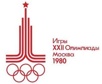 Logo da Olimpíada Moscou 1980