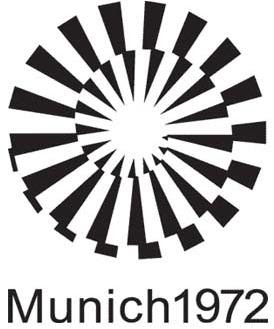 Logo da Olimpíada Munique 1972
