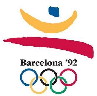 Logo da Olimpíada Barcelona 1992