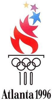 Logo da Olimpíada Atlanta 1996