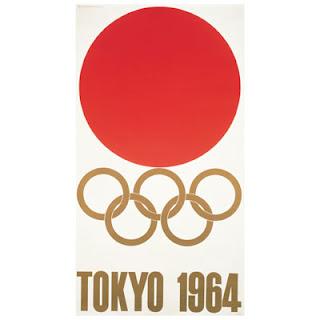 Logo da Olimpíada Tóquio 1964