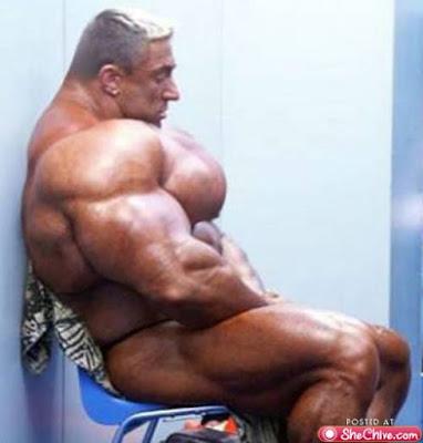 Musculação em excesso