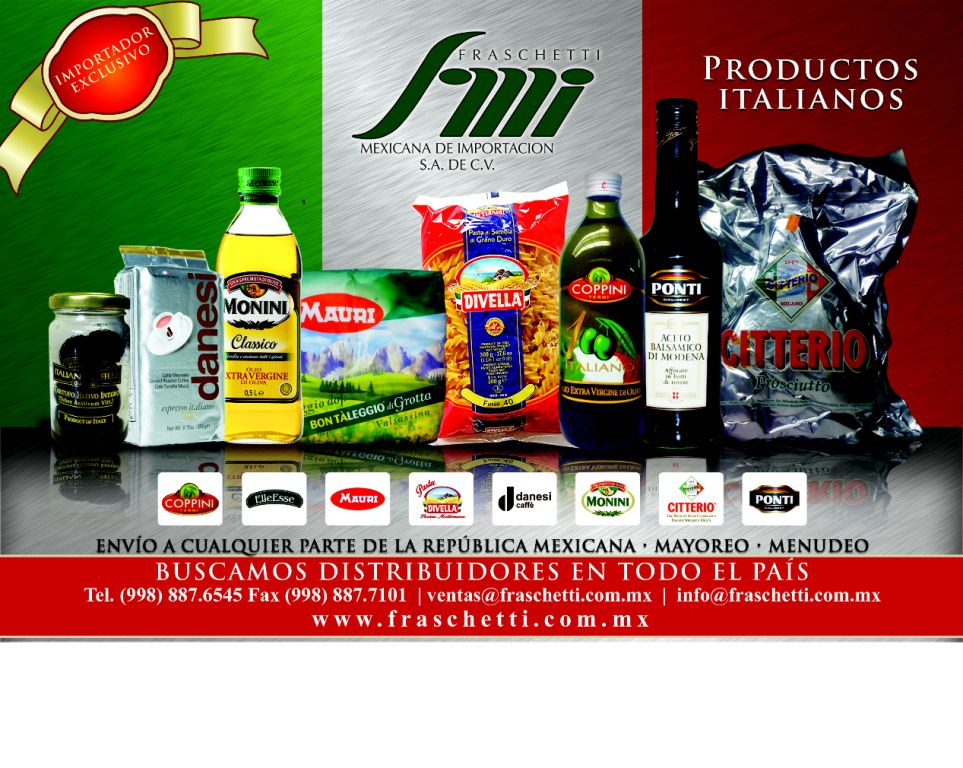 distribuidor de productos italianos: