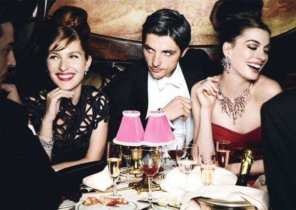 Vogue Anne Hathaway 2010. anne klein peep toe heels anne