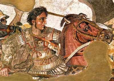 ALEXANDRE, O GRANDE, NA BATALHA DE GAUGAMELA, 331 a.C.