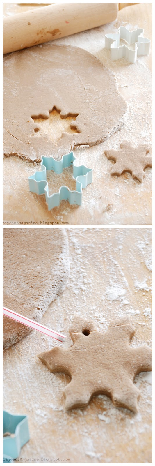 Tutorilal: How To Make Christmas Salt Dough