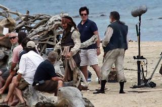Piratas del Caribe 4: En Costas Extrañas Johnny Deep Jack Sparrow