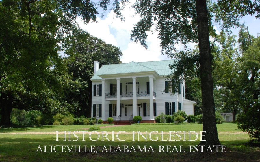 Historic Ingleside Aliceville Alabama Real Estate