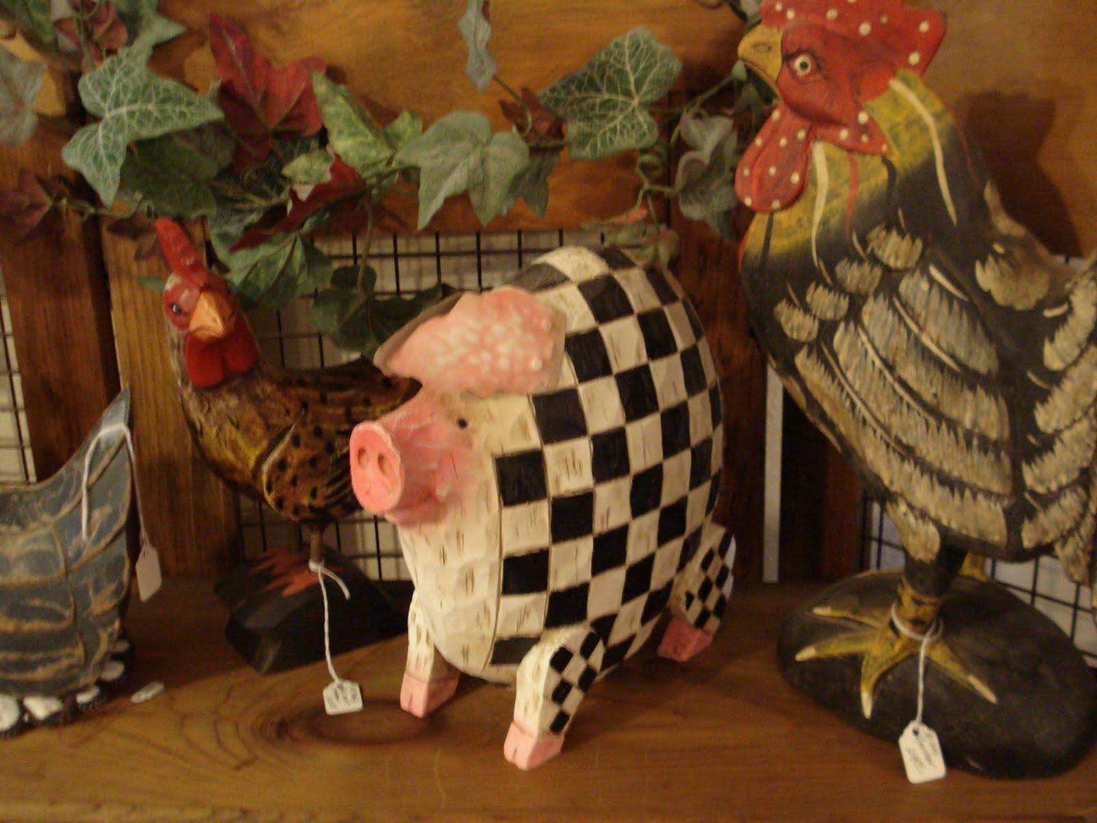 of folk art figurines will