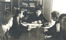 1985-1987 руководитель комитета комсомола Таллиннской 51 средней школы