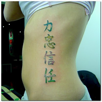 letter tattoos for guys. chinese letter tattoos for