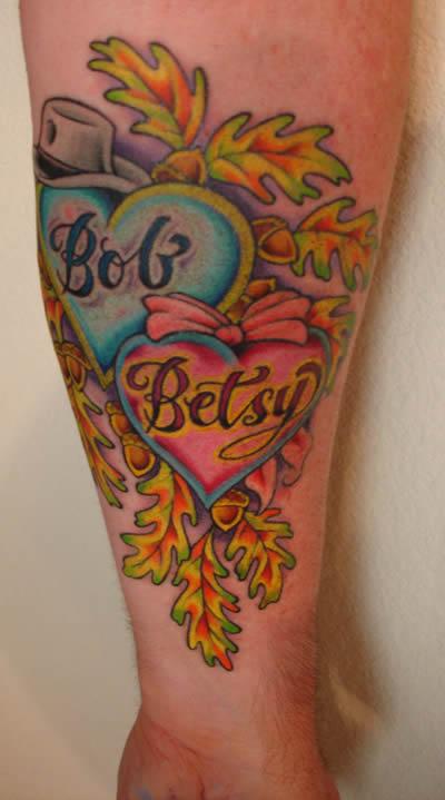Tattoo Inspiration – Worlds Best Tattoos: Mom and Dad Tattoo