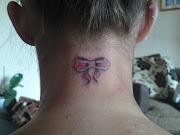 tattoo bow