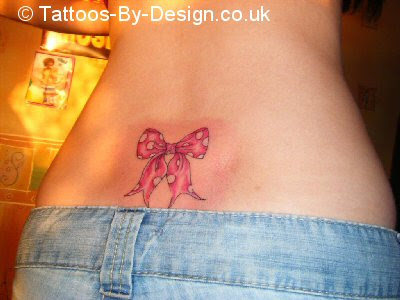 girls bow tattoos