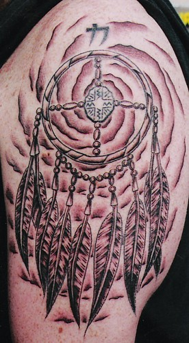 dream catcher tattoos. dreamcatcher tattoo