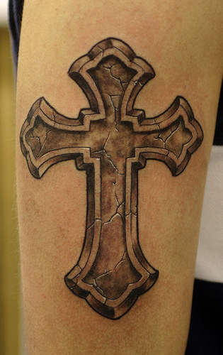 tattoo flash cross