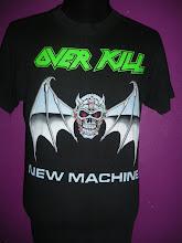 Vtg Over Kill 91'