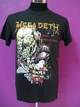 Vintage Megadeth 87'