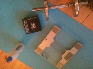 P90x  dag 0, fitnesstest