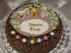 Blanka kutyás tortája