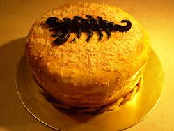 Skorpiós mini torta