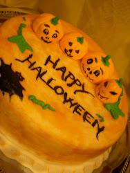 Halloween torta