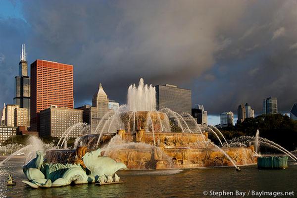 buckingham fountain chicago - photo #44