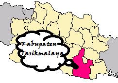 Peta Tasikmalaya