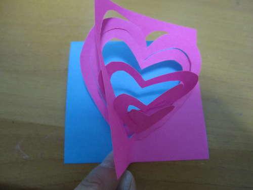 post it  popup โพสต์อิท ป๊อปอัพ การ์ด น่ารัก หวาน บอกความในใจ หัวใจ วาเลนไทน์