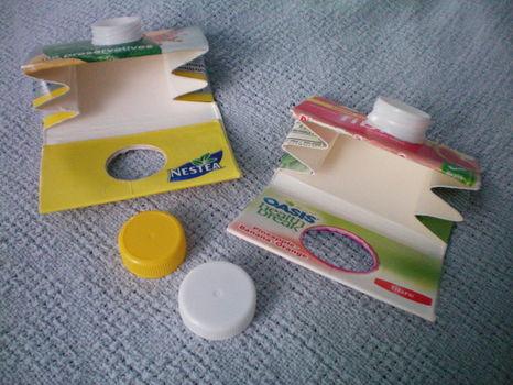 วิธีทำกระเป๋า กระเป๋ากล่องนม  กระเป๋าใส่เหรียญ กระเป๋าเงิน กล่องนม  กล่อง ของใช้แล้ว ลดขยะ รีไซเคิล   ประดิษฐ์ของเหลือใช้   วัสดุเหลือใช้ ไอเดีย
