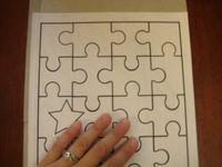 วิธีทำ จิ๊กซอว์ ตัวต่อภาพ jigsaw  กล่องกระดาษทำของเล่น  กล่องซีเรียล กล่องอาหารเช้า บรรจุภัณฑ์ ของใช้แล้ว ลดขยะ รีไซเคิล วัสดุเหลือใช้ ไอเดีย how to diy ลดโลกร้อน โลกสีเขียว โครงงาน กระดาษ กระดาษใช้แล้ว recycle reuse